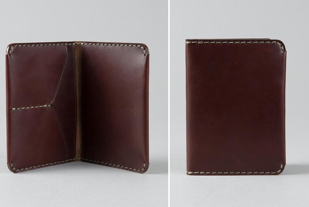 Passport-Wallets---Five-Plus-One-4)-Makr-Passport-Wallet-in-Oxblood