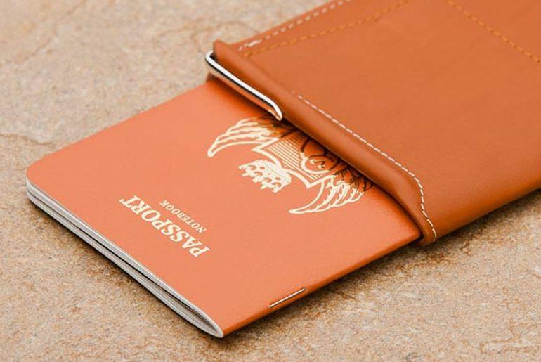 Passport-Wallets---Five-Plus-One-Plus-One---Bellroy-Passport-Sleeve-in-Tan-passport</a>