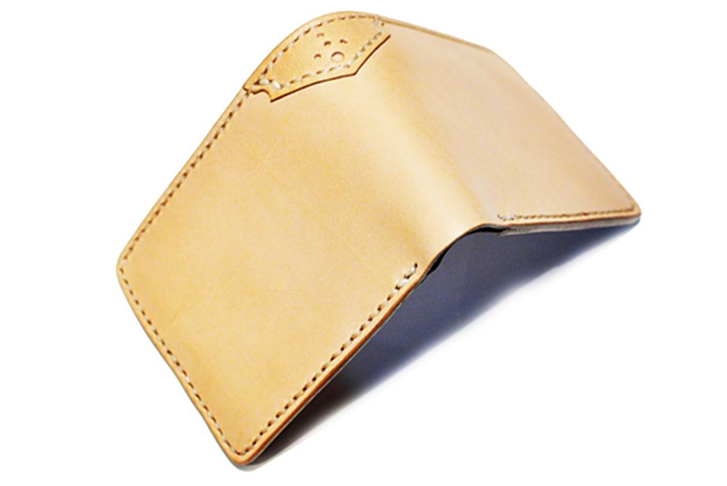 Sage-Mustang-Natural-Veg-Tan-Bifold-Wallet-back-open