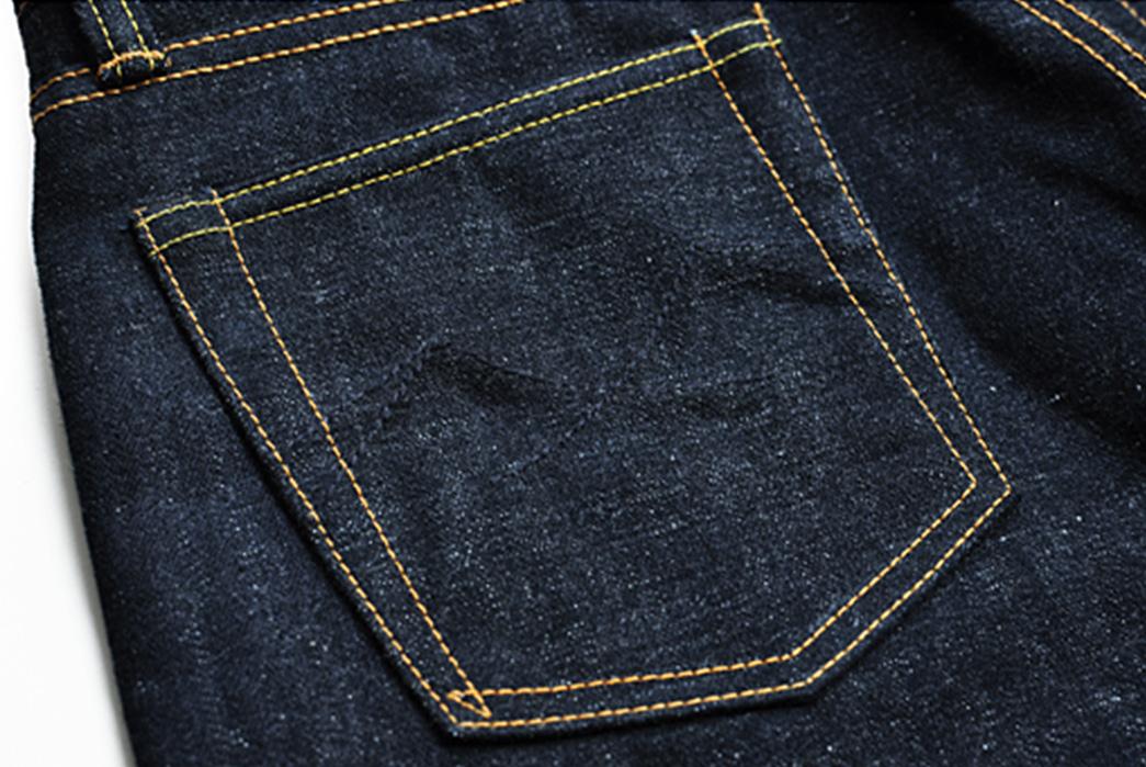 Sage-The-5th-Chieftain-19oz.-Unsanforized-Deep-Indigo-Jeans-back-top-left-pocket