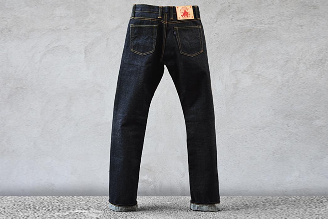 Sage-The-5th-Chieftain-19oz.-Unsanforized-Deep-Indigo-Jeans-back