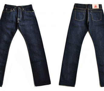 Sage-The-5th-Chieftain-19oz.-Unsanforized-Deep-Indigo-Jeans-front-back