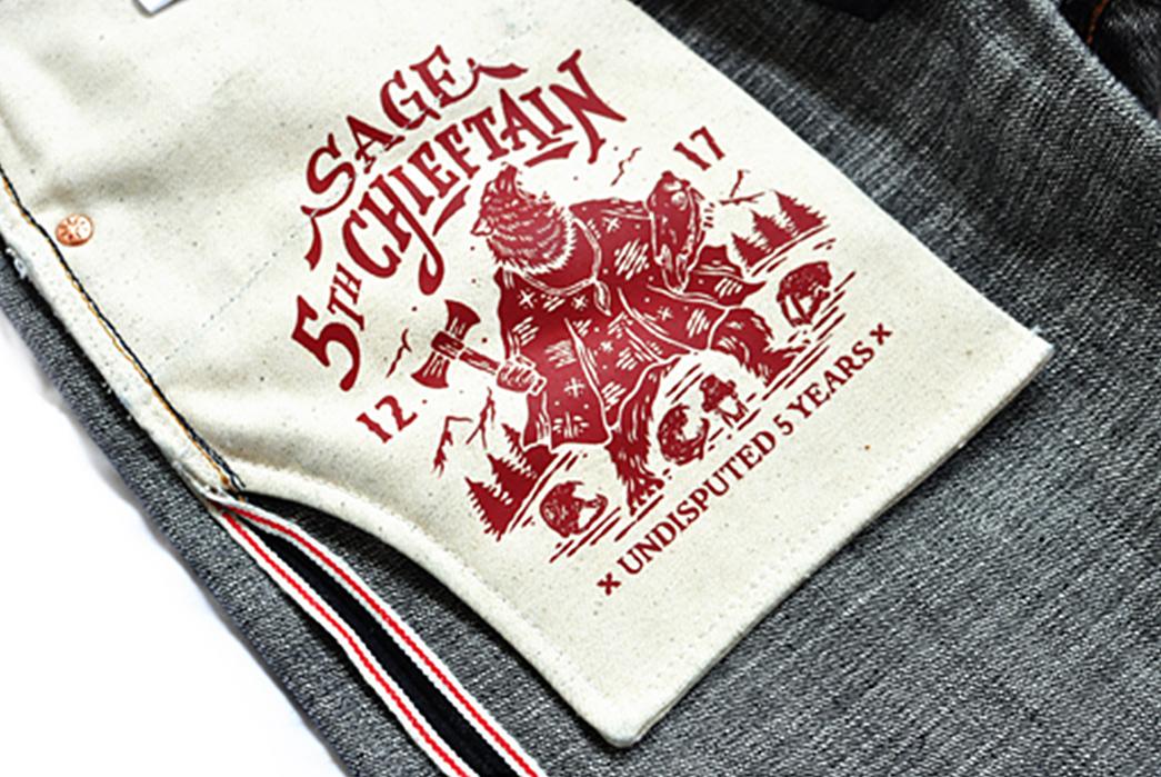 Sage-The-5th-Chieftain-19oz.-Unsanforized-Deep-Indigo-Jeans-inside-pocket-bag