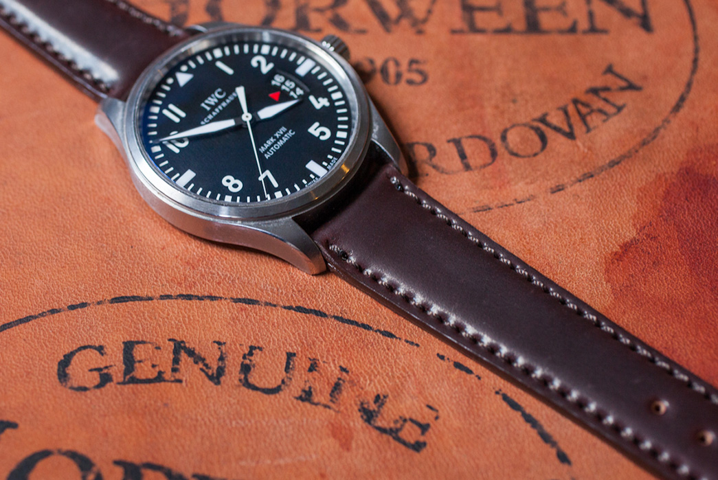 Shell-Cordovan---The-King-of-Leathers-Shell-Cordovan-Watch-Strap-by-Horween-Leather