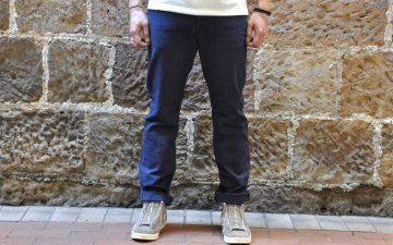 Stevenson-Overall-11.5oz-Heather-Indigo-'Old-Glory'-Chinos-model-front