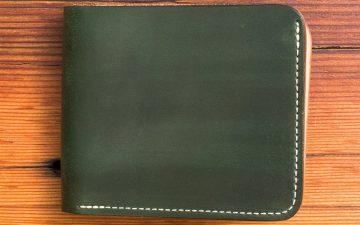 Vermilyea-Pelle-Shell-Cordovan-Bifold-Wallet-front