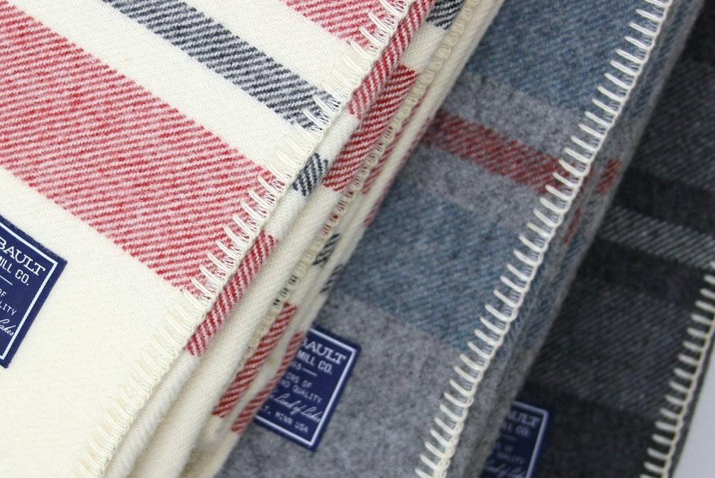 100%-Wool-Blankets---Five-Plus-One-4)-Faribault-Mill-Cabin-Wool-Blanket-folded
