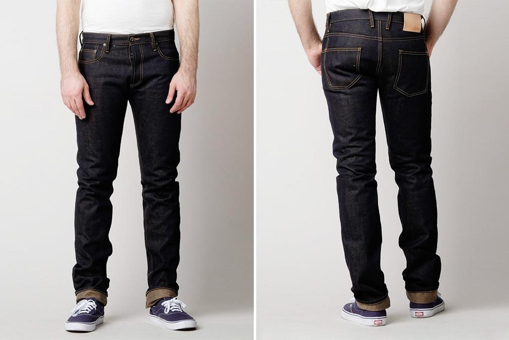 3sixteen-ST-140X-Raw-Denim-Jeans-model-front-back