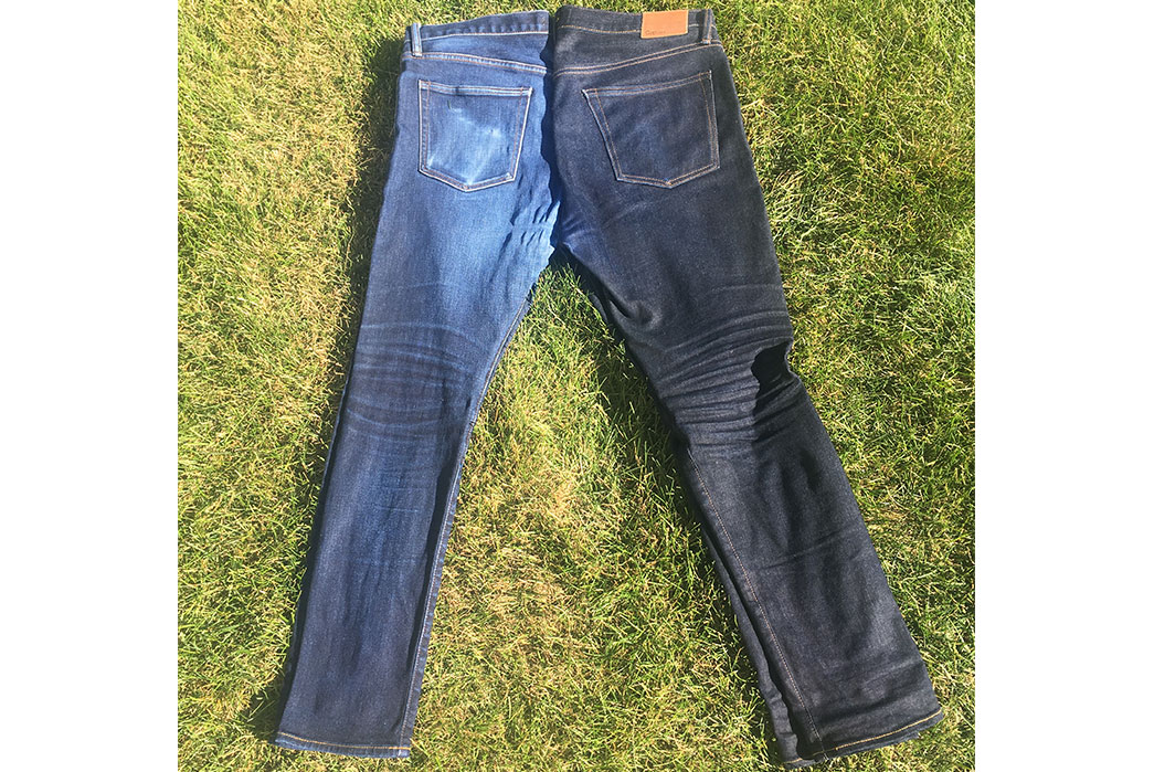 fade-of-the-day-gap-kaihara-skinny-selvedge-10-months-8-washes-2-soaks-light-and-dark-sides
