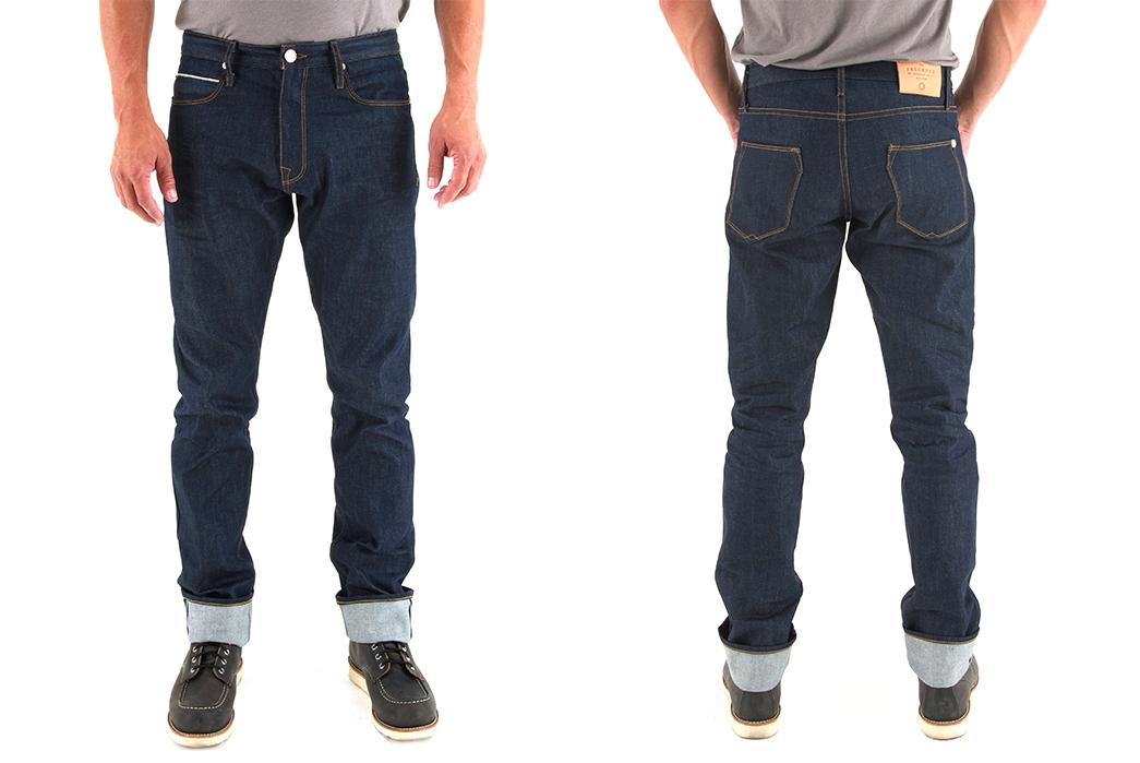 freenote-cloth-rios-vintage-slim-12-oz-raw-denim-jeans-model-front-back