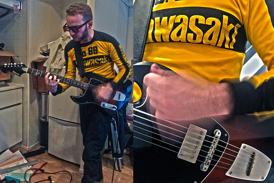 Ian Segal, MotorAve LeMans Guitar – Item Number One