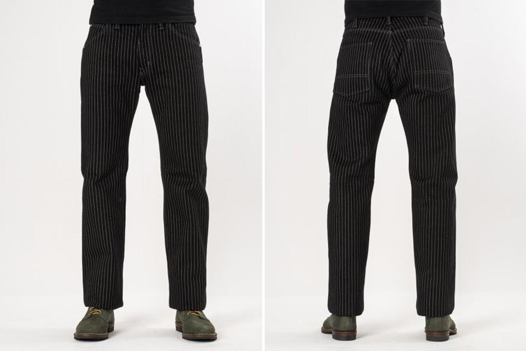 iron-heart-black-21oz-wabash-single-knee-logger-jeans-model-front-back