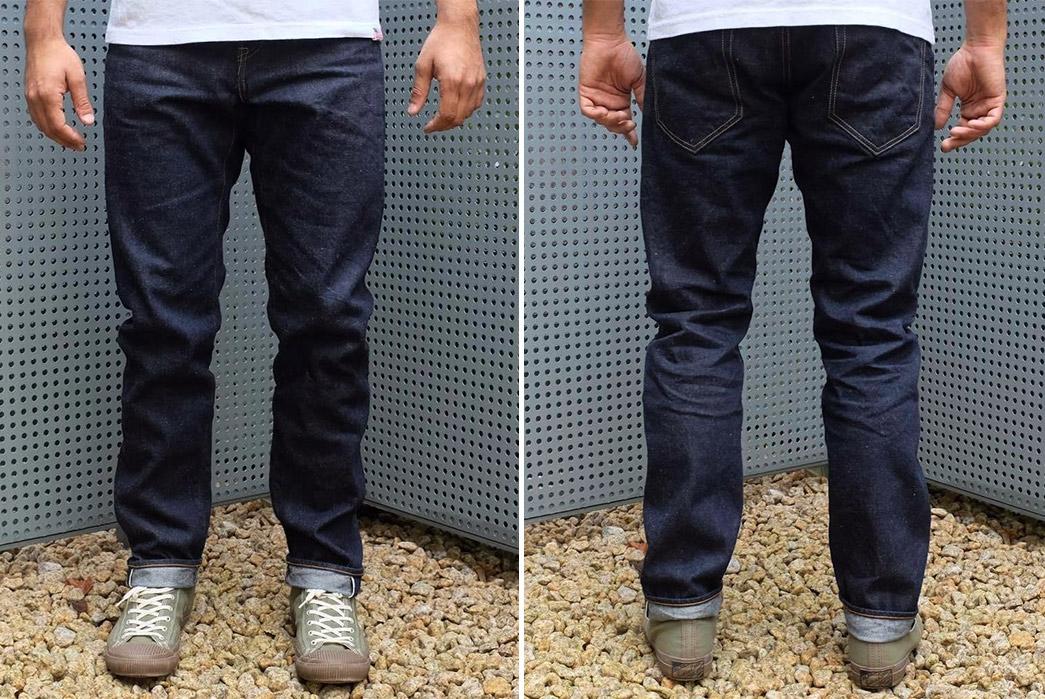 kamikaze-attack-fat-selvedge-jeans-model-front-back