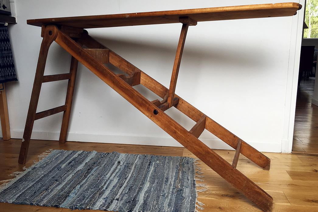 Lauren Yates, Vintage Step-Ladder/Ironing Board – Item Number One