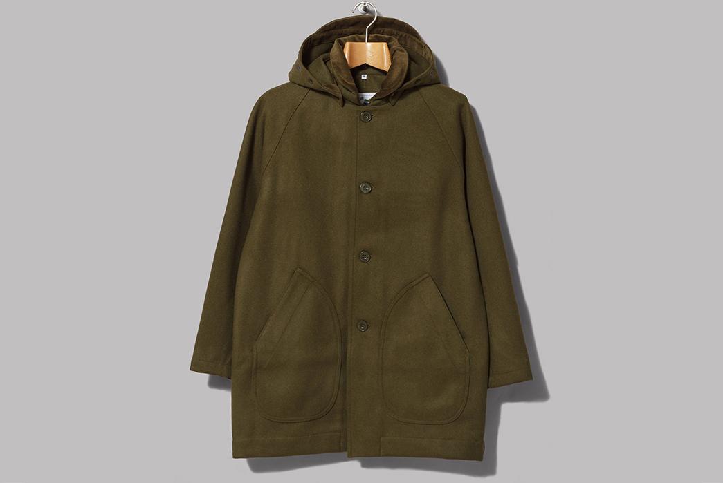 Oi-Polloi-x-Arpenteur-Mevi-Jacket-olive-front-with-hood
