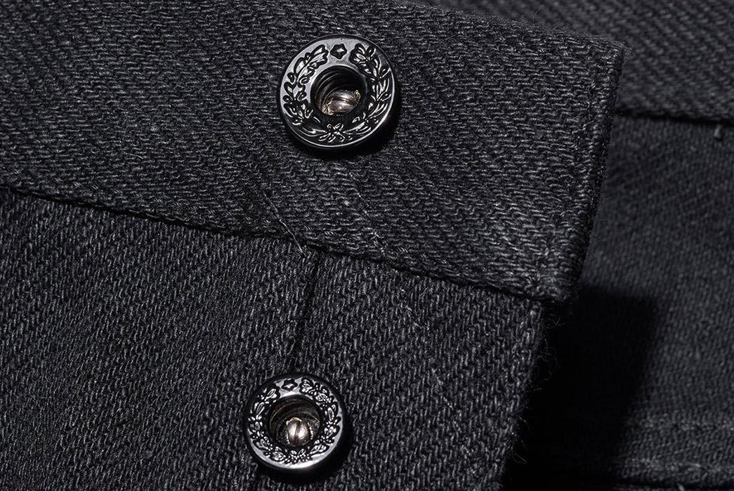 Oni's-20oz.-Secret-Denim-Goes-Completely-Black-front-top-buttons
