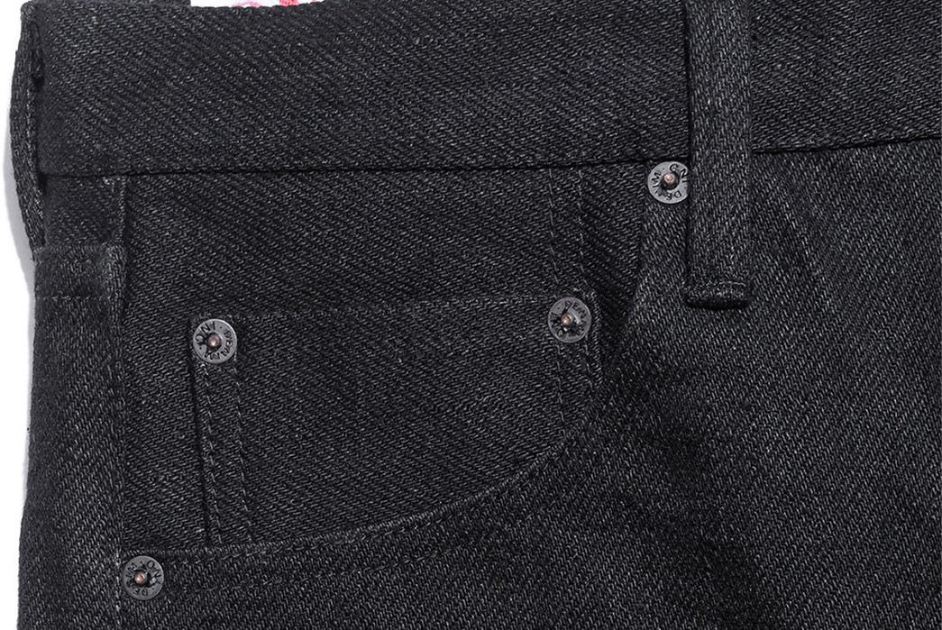 Oni's-20oz.-Secret-Denim-Goes-Completely-Black-front-top-right-pocket