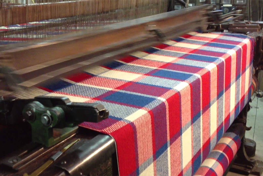 Well-Plaid---The-7-Patterns-to-Know-blue-red on machine