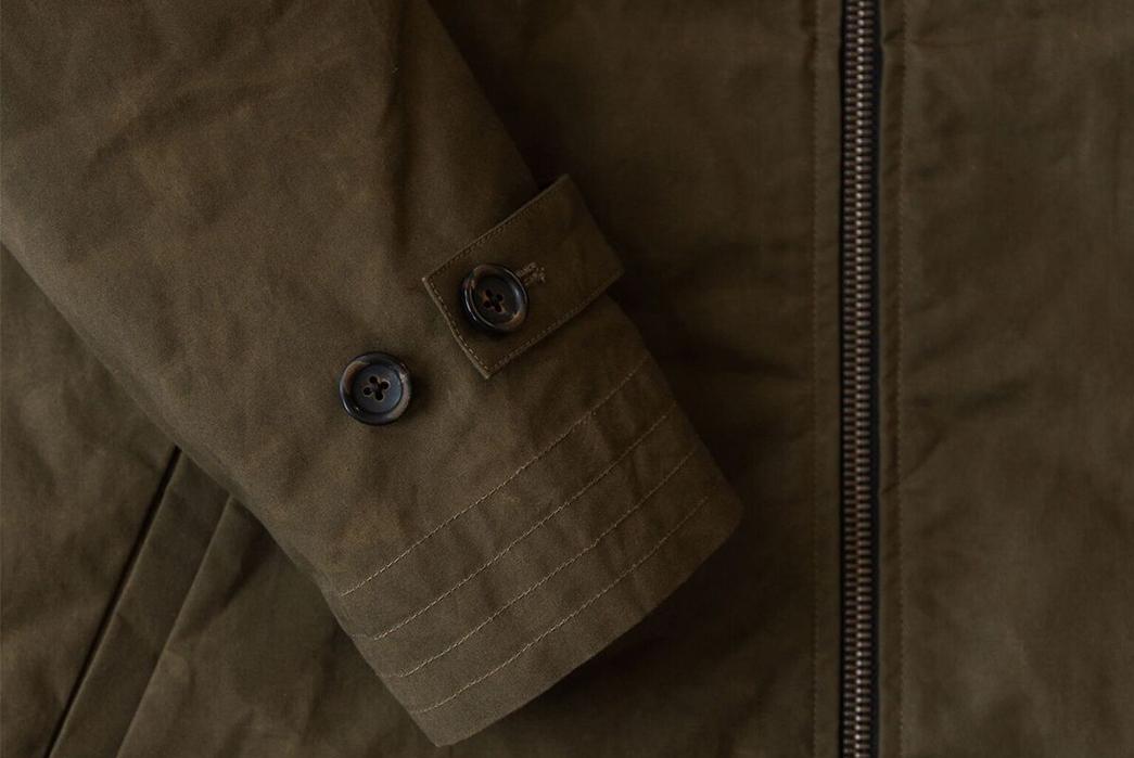 Wilson-&-Willy's-Dry-Wax-Anorak-Jacket-sleeve