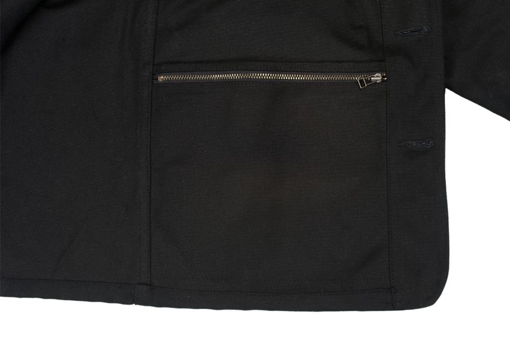 3sixteen-black-cotton-duck-hunting-jacket-zipper-pocket