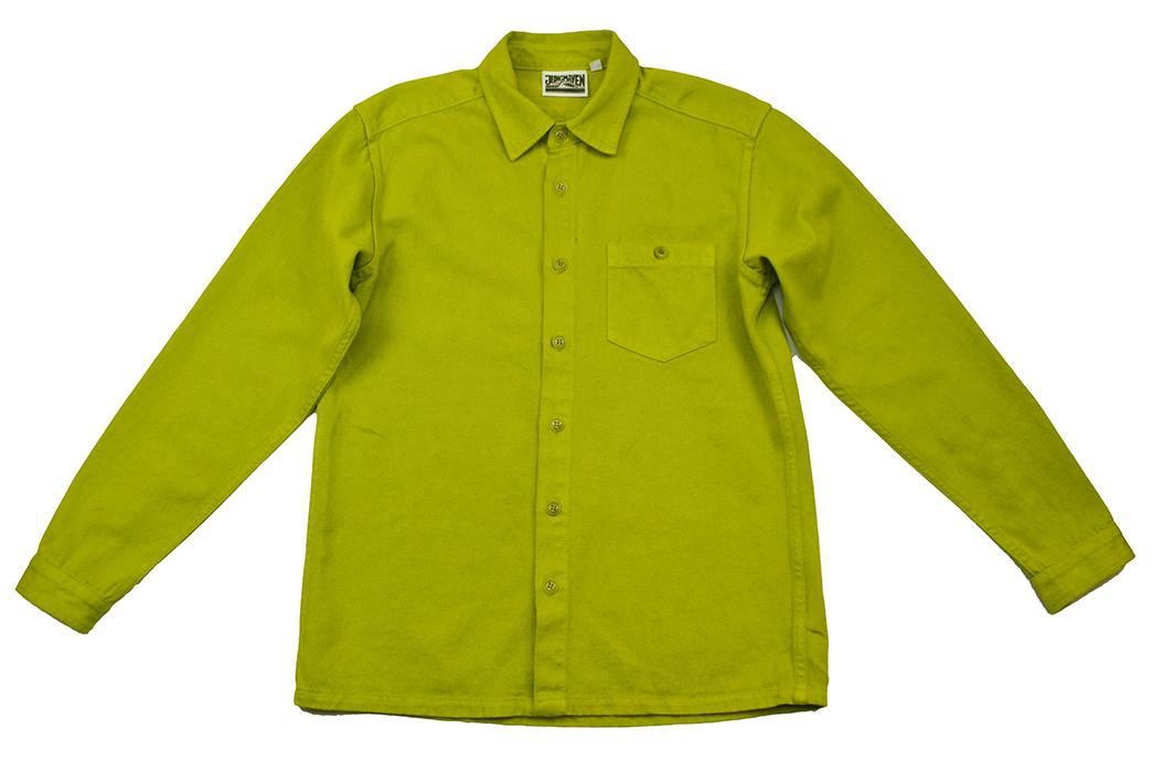jungmaven-hemp-cotton-topanga-button-down-shirts-green