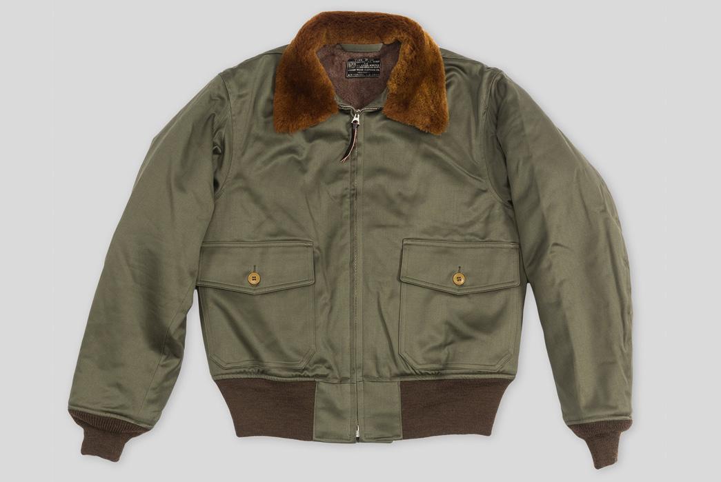 The real mccoy's b-10 flight jacket