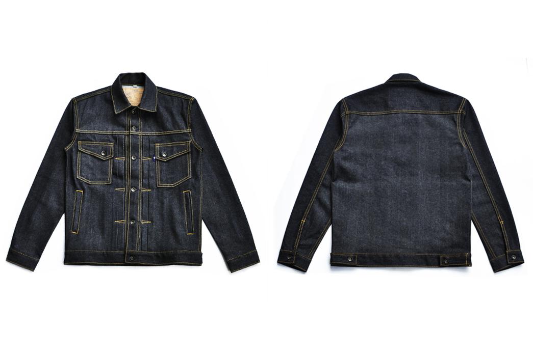 sage-canine-type-ii-14oz-deep-indigo-denim-jacket-front-back