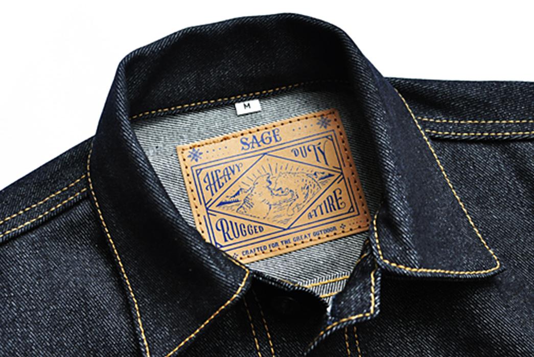 sage-canine-type-ii-14oz-deep-indigo-denim-jacket-front-collar-and-inside-leather-patch