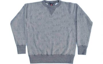 studio-dartisan-pig-jacquard-loopwheeled-sweatshirt-front