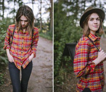 tradlands-9oz-brushed-flannel-boulder-button-up-shirt-model-front-back