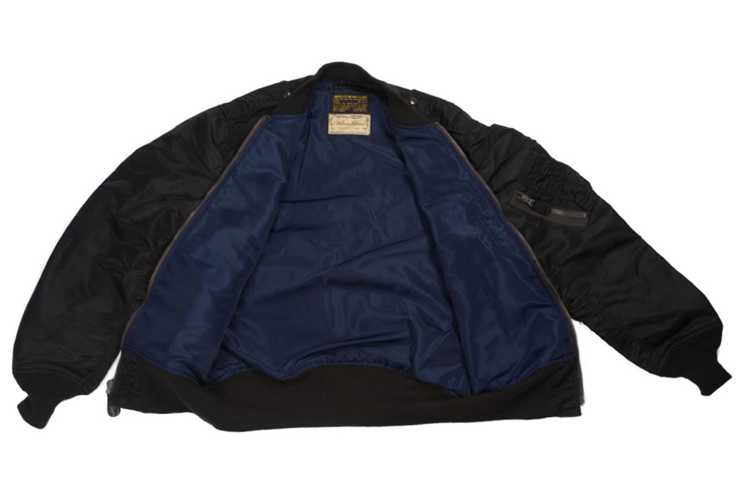 william-gibson-x-buzz-rickson-l-2b-flight-jacket-front-open