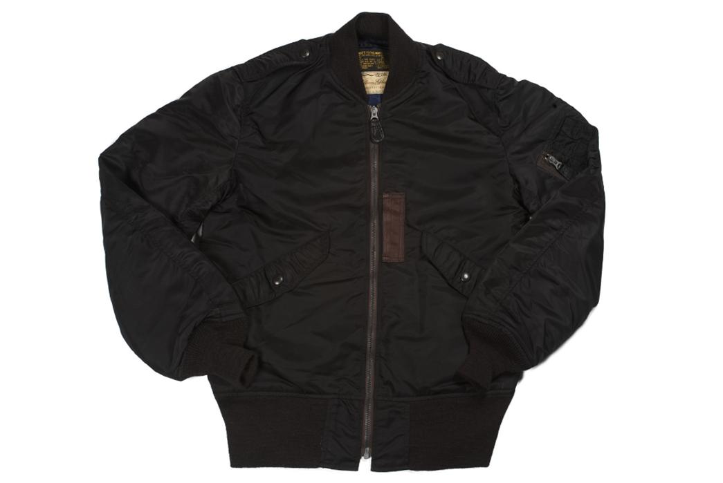 william-gibson-x-buzz-rickson-l-2b-flight-jacket-front