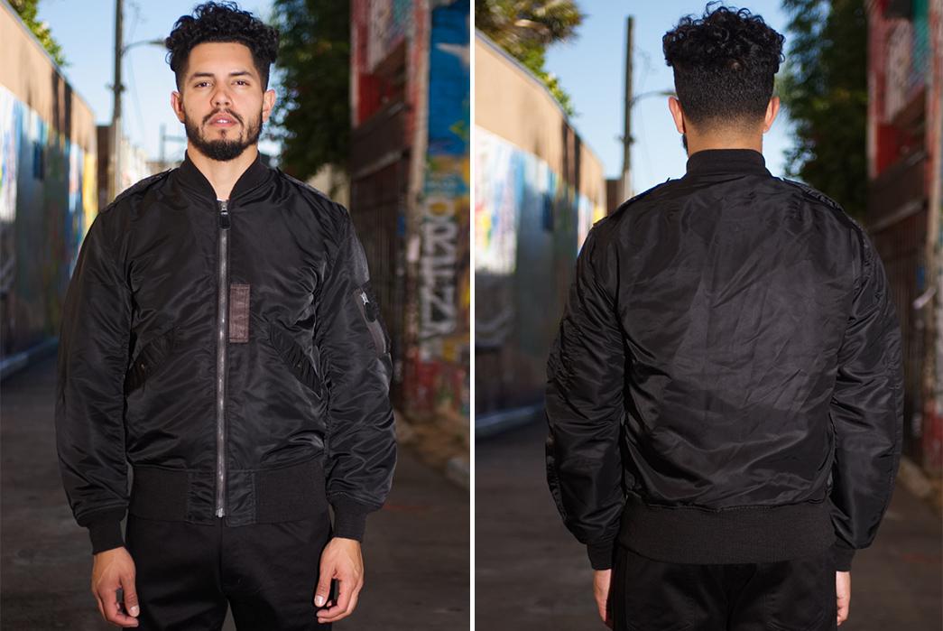 william-gibson-x-buzz-rickson-l-2b-flight-jacket-model-front-back