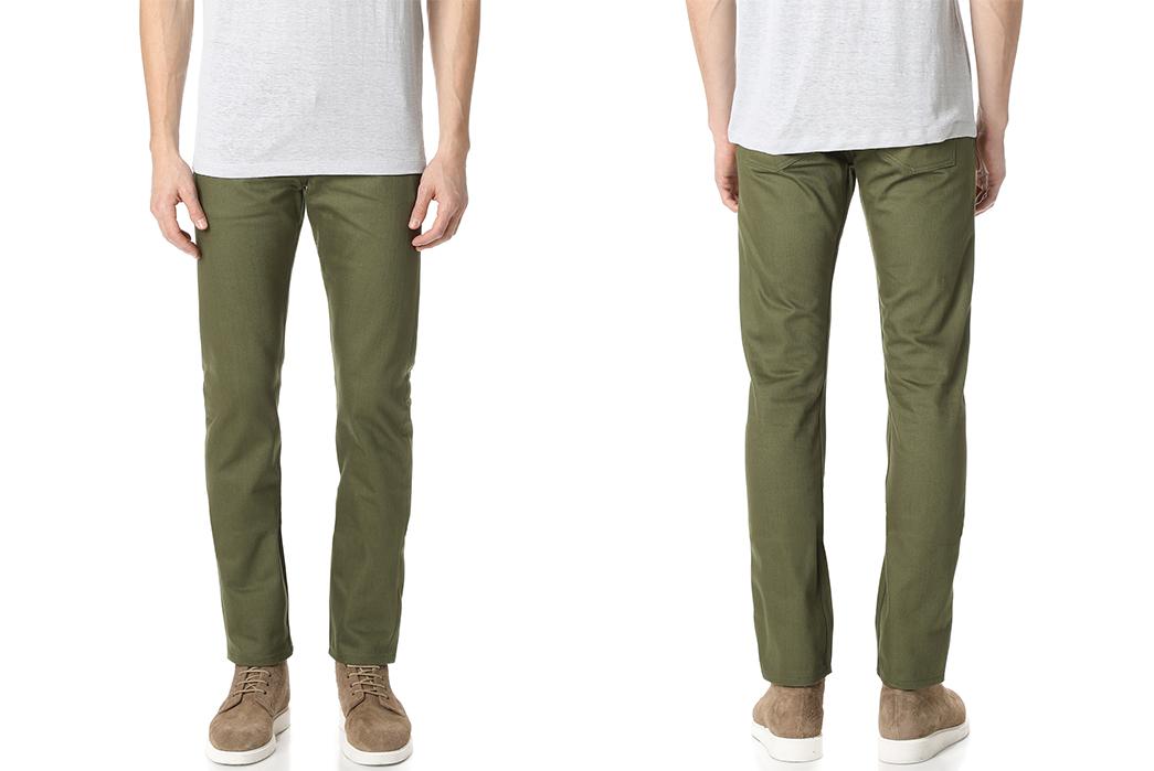 5-naked-famous-selvedge-weird-guy-jeans-in-khaki-green-model-front-back