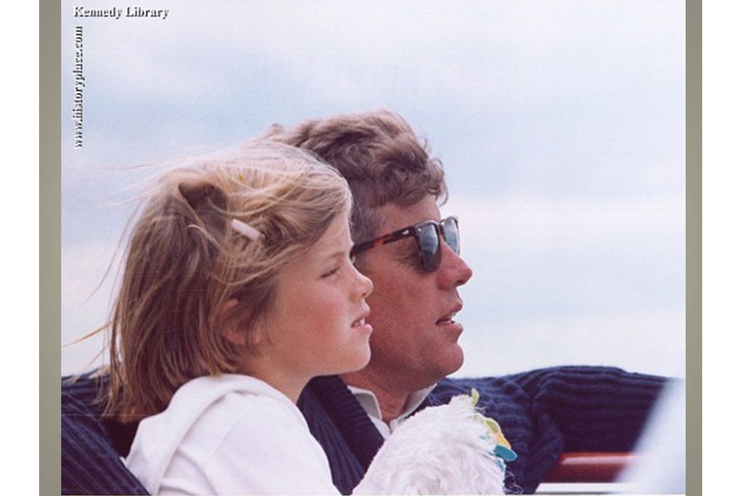 american-optical-history-philosophy-and-iconic-products-jfk-with-daughter
