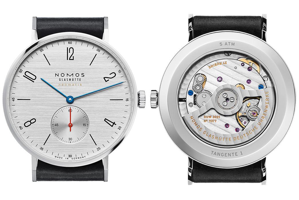bauhaus-style-watches-five-plus-one2-nomos-tangente-neomatik-silvercut-front-back