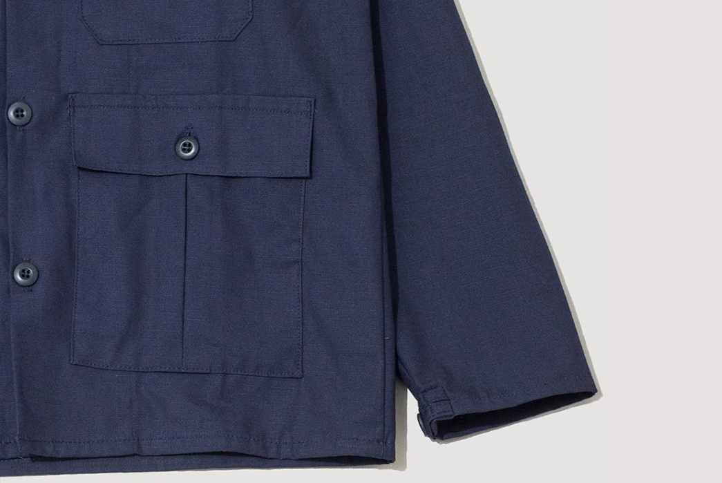 stan-ray-navy-ripstop-3-pocket-jacket-front-left-down