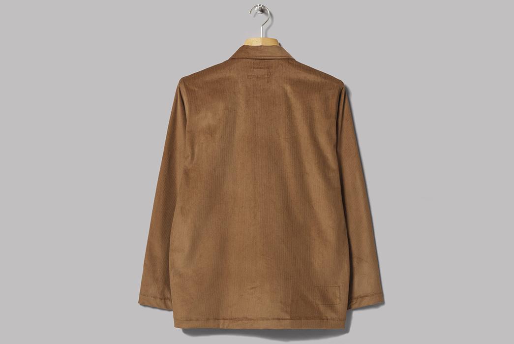 universal-works-x-oi-polloi-bakers-overshirts-tan-back