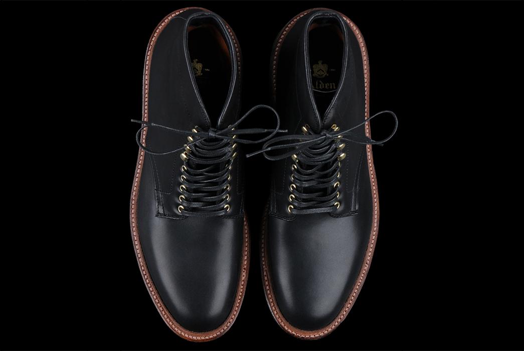 alden-d4515h-plain-toe-boot-in-black-trapper-pair-front-top