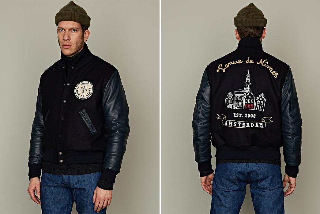 tenue-de-nimes-celebrates-nine-yars-with-an-indigo-lambskin-varsity-jacket-model-front-back