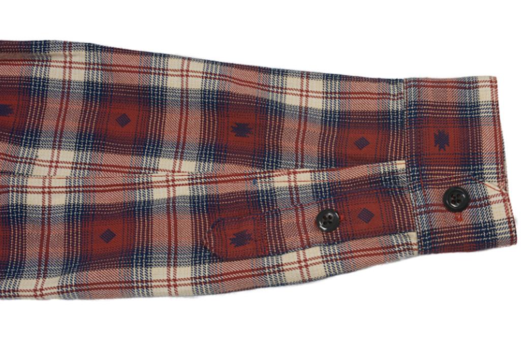 the-flat-head-amnesia-haze-native-check-shirt-sleeve