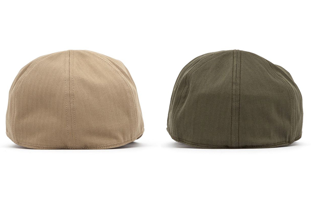 the-real-mccoys-type-a-3-caps-khaki-and-olive-back
