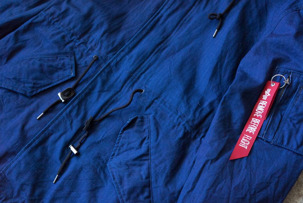 3sixteen x Alpha Industries M-59 Fishtail Parka Jacket