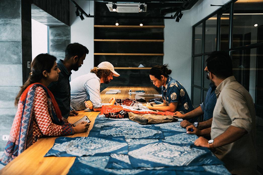 Heddels-CO-OP-4-The-AFGI-Ajrak-Bandana-blue-dyed