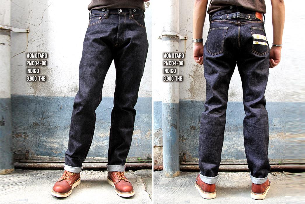 momotaro-x-japan-blue-jeans-x-pronto-pmj-01-raw-denim-jeans-model-front-back
