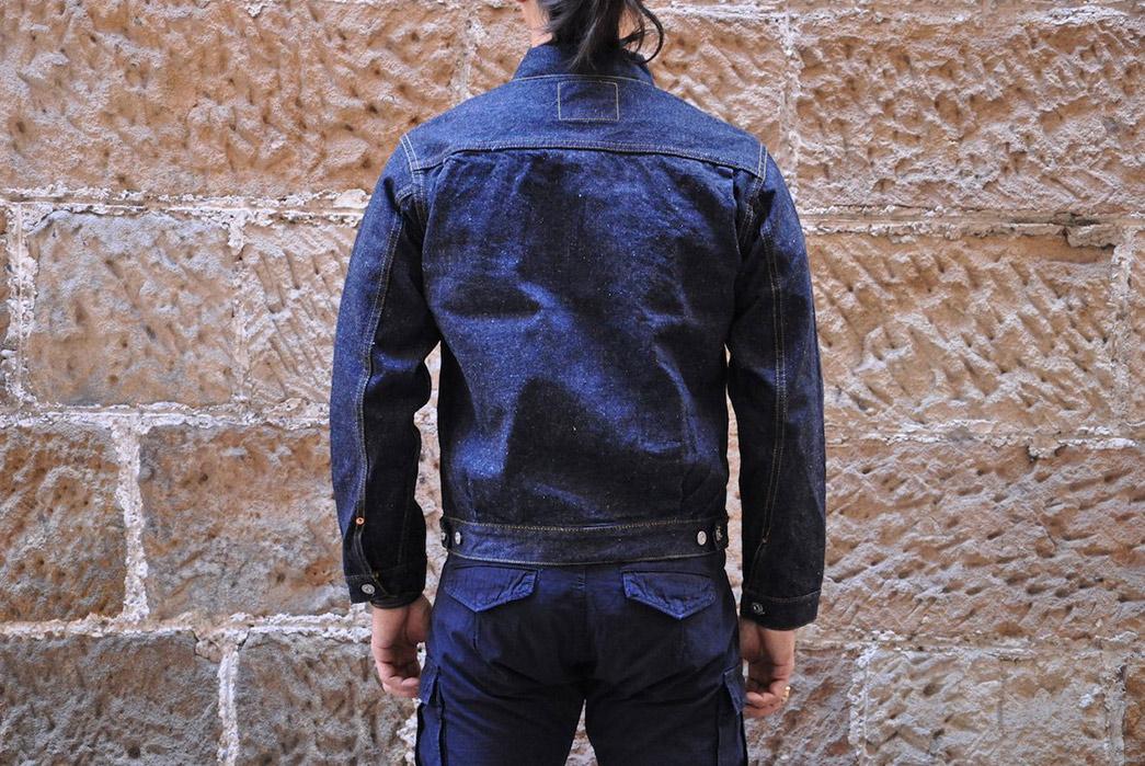 samurai-15oz-type-ii-denim-jacket-model-back