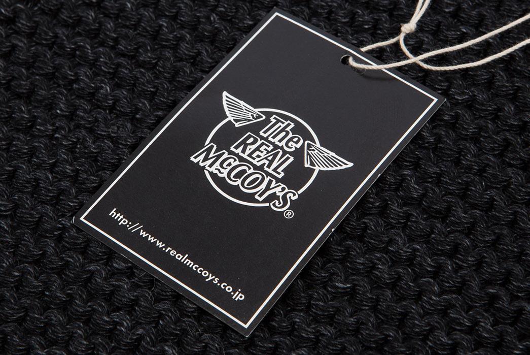 the-real-mccoys-shawl-collar-cotton-cardigan-label
