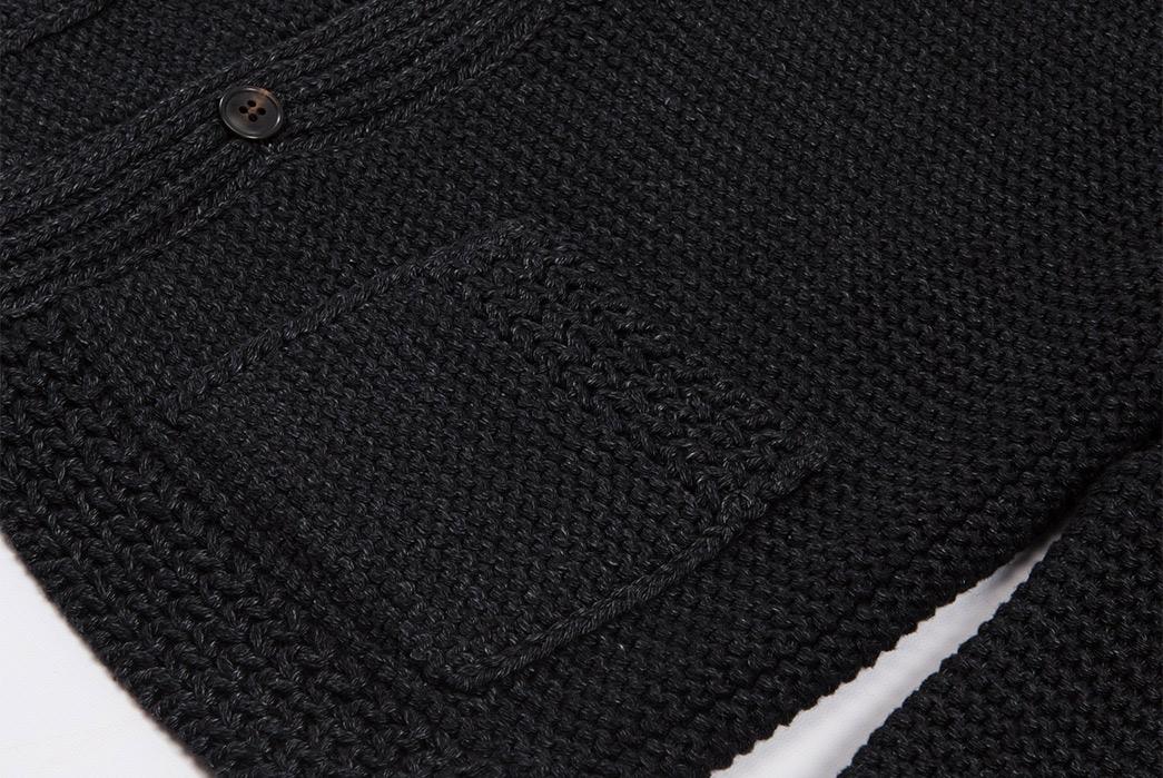 the-real-mccoys-shawl-collar-cotton-cardigan-pocket