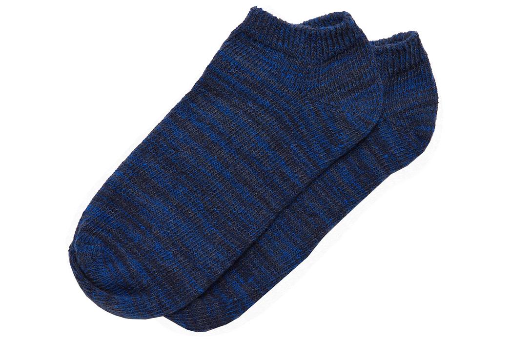 american-trench-random-plait-ankle-socks-blue