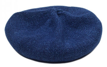 blue-blue-japan-indigo-dyed-linen-beret-front-top